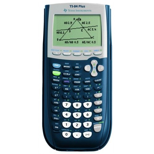 Manual for ti 83 plus calculator.